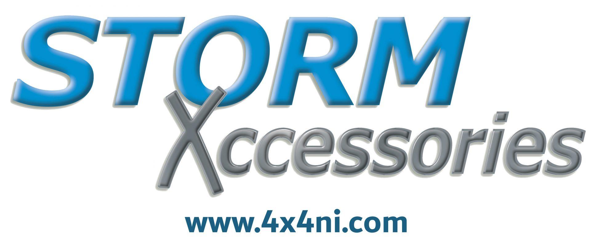 Storm logo with website